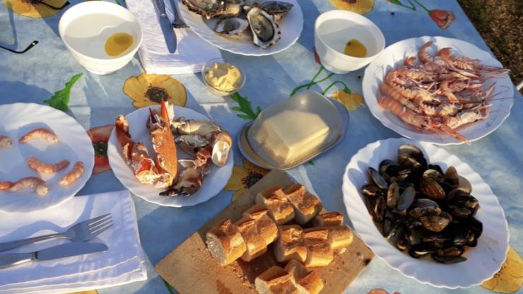 Gericht: Plat de Fruits de mer